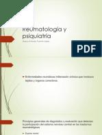 Reumatología y Psiquiatría