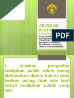 Advokasi Kesehatan Tugas 5