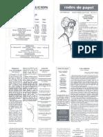 Redes de Papel-Revista de Cultura-2001