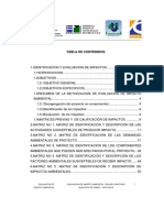 Evaluacion de Impacto Ambiental Relleno Sanitario Municipio de Urrao