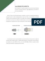 Comunicación Serial RS232 PIC16F877A