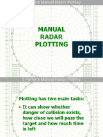 3 Manual Radar Plotting