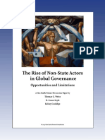 The Rise of Non-state Actors in Global Governance