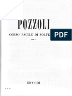 Corso Facile Di Solfeggio - Pozzoli