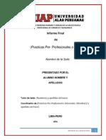 Informe Final De