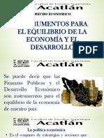 Instrumentos Para El Desarrollo de La Economia en Mexico