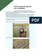 10 Ideas Para La Construcción de Invernaderos Reciclados