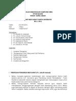 Minit Mesyuarat PMT Kali Ke 2 2016