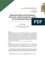 Colman, A. (2016). Elementos Dóxicos en Los Informes de La DIPBA