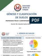 1.7 GÉNESIS Y CLASIFICACIÓN DE SUELOS Propiedades físicas y comportamiento del suelo.pdf