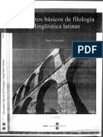 Quetglas, Pere - Elementos Básicos de Filología y Lingüística Latinas.