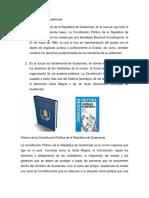 Constitución Política Guatemala