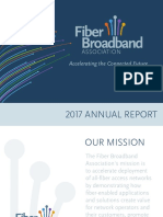 Fiber Broadband Association 2017 Annual Report