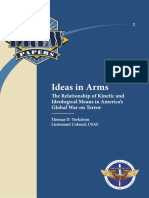 Ideas in Arms the Relationship of Kinetic and Ideological Means In