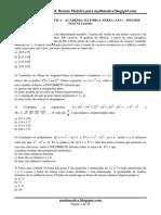 Prova de Matemática Afa 2015-2016 Resolvida
