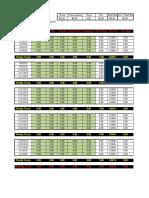 Calendar Trading-Log Template