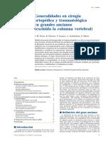 01 - Generalidades en Cirugía Ortopédica y Traumatológica en Grandes Ancianos (Excluida La Columna Vertebral)