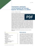 03 - Tratamiento Quirúrgico de Las Fracturas Del Extremo Superior Del Húmero en Adultos