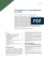 01 - Tratamiento de La Espondilolistesis en El Niño