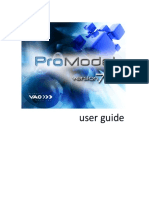ProModel User Guide