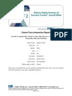 BRIEF2 Parent PiC Interpretive Sample Report