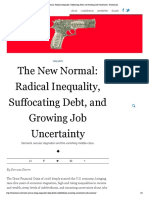 The New Normal_ Radical Inequality, Suffocating Debt, And Growing Job Uncertainty - Evonomics