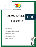 Cover Buku Rekod Aktiviti Tkrs 2017