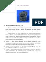 Batu Bara Di Indonesia