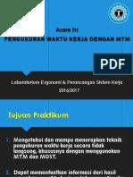 ACARA 3 - MTM