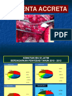 Placenta Accreta DINKES Presentasi Mei 2016