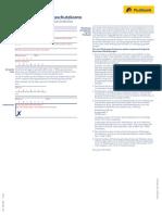 Postbank Privat Girokonto Umwandlung Pfaendungsschutzkonto 921 102 050 1115