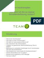Insolvenzplan- Ablauf Team U