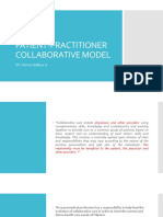 Patient-practtitioner Collaborative Model