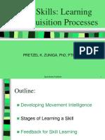 PRETZ Motor Learning