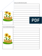 Tulis Petikan Bunga Matahari