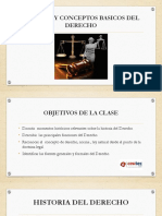 Historia y Conceptos Basicos Del Derecho(1)