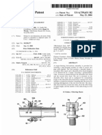 Torque-limiting bolt-and-nut assembly (US patent 6739631)