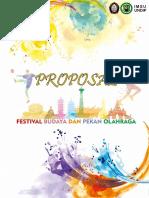Proposal Festival Dan Kebudayaan