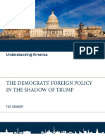 The Democrats Foreign Policy in the Shadow of Trump