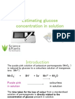 SAPS Estimating Glucose Concentrate in Solution.ppt