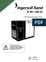 Ingersol Rand R 90-160 IU Operating Manual