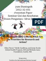 PPT Jurnal Seminar Gizi