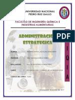Administracion Estrategica Alumna. Roman Zapata