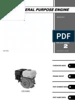 Manual Motor Honda Gx160x163cm3