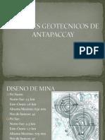 Factores Geotecnicos de Antapaccay