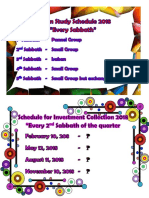 Sabbath School Promotion