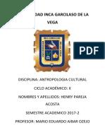 Caratula Antropologia Cultural