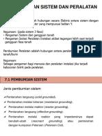 7. Pembumian sistem dan peralatan.ppt
