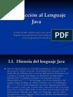 Introduccion Al Lenguaje Java -Capitulo I