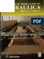 Tecnicas de modelacion Hidraulica Miguel A Vergara.pdf